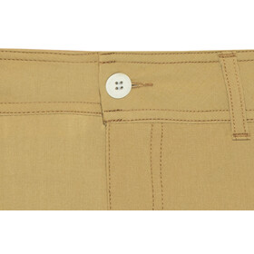 Houdini Action Twill Shorts Women Antique Gold